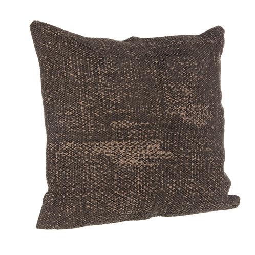 Cojín Zeudí marrón 45x45
