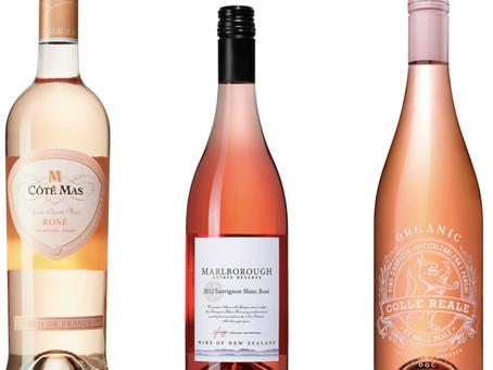 3 favorite, crisp rosé wines for the summer