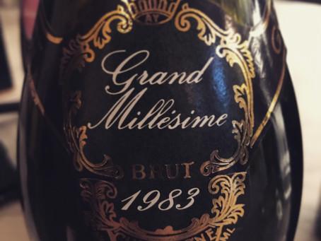 Champagne Gosset- A matter of interest
