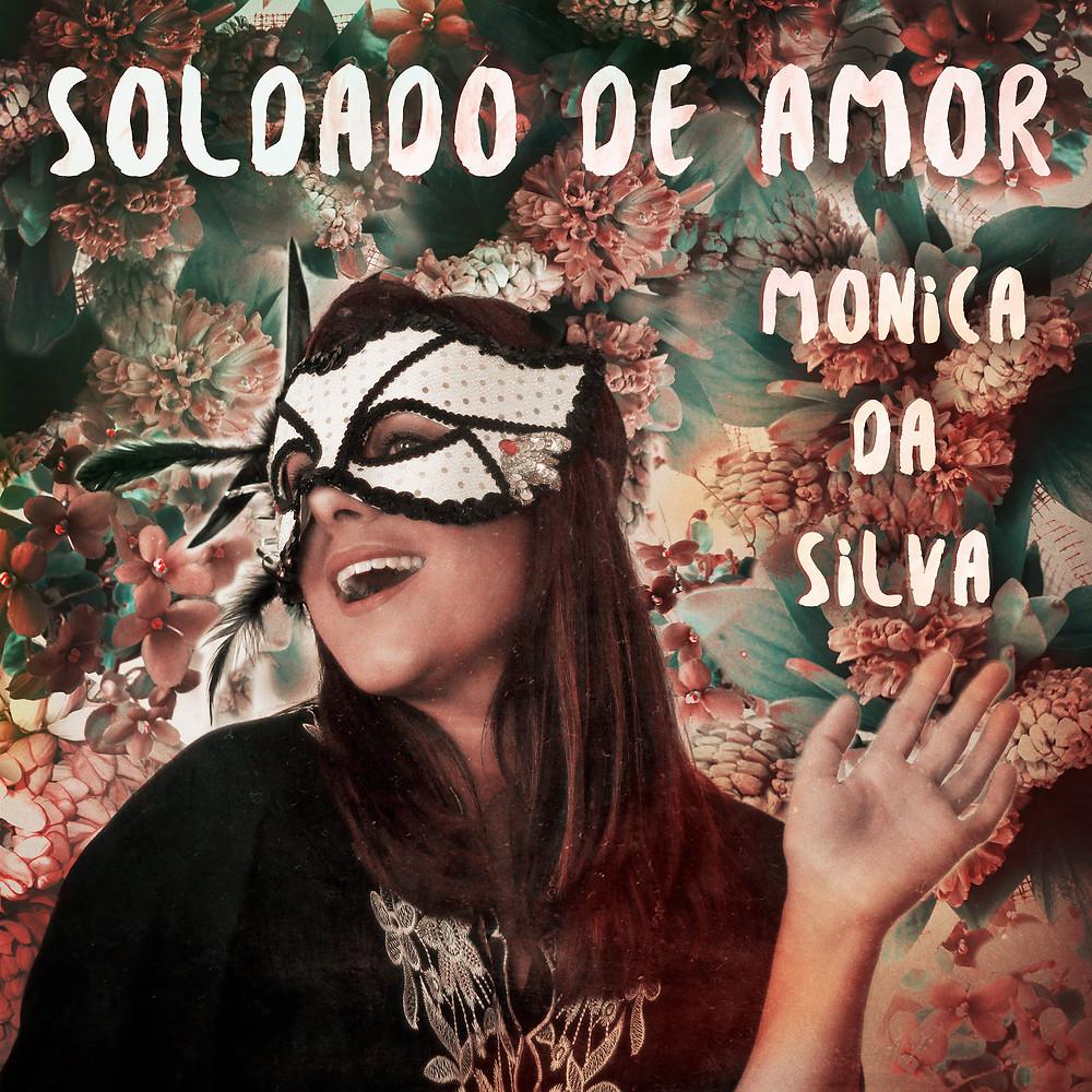 Monica da Silva - Soldado de Amor Album Cover Art Brazilian Bossa Nova Music