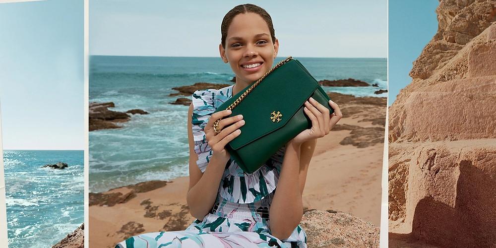 Tory Burch Pre-Fall 2019 Fashion Model on Beach Brazilian Bossa Nova Music Licensing Placement