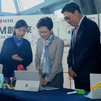 「STEM 創未來」概念展示日