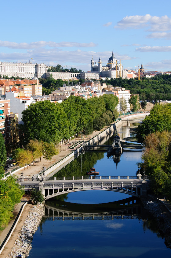 The Manzanares River Springs New Life to Madrid