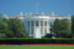 The White House in Washington DC with be