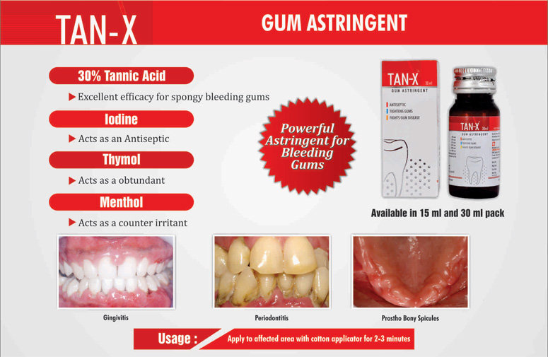 TAN-X Gum Astringent - 15 ml