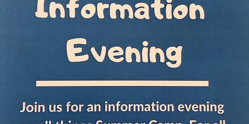 Noam Camp Information evening