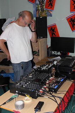 DJ Bert op Centrum Kijkduin