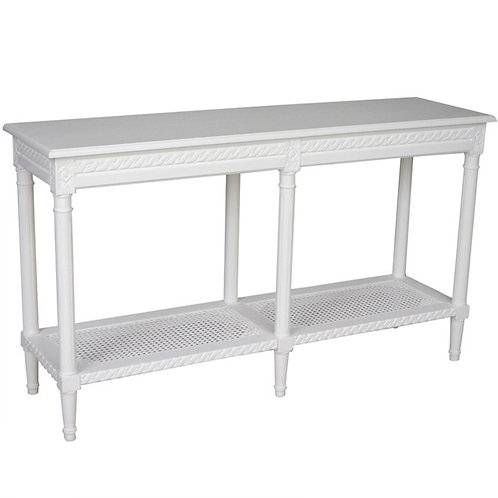 Long Console White Side