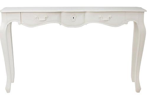 Elegant White Console Front
