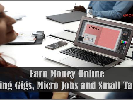 Making Money with Online Gigs – iTalkie, Fiverr, User Testing, Receipt Hog, Amazon Mechanical Turk