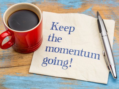 Momentum In Business Is Success