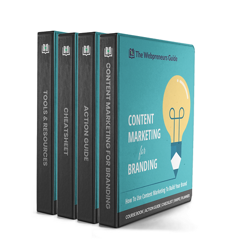 The Webpreneurs Guide To: Content Marketing For Branding