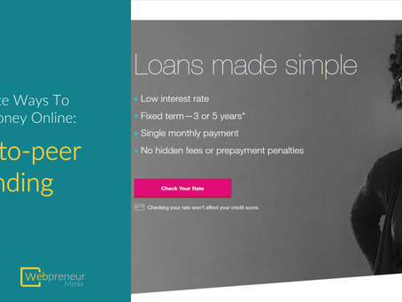 How To Raise Funds For Your Project With Peer-to-peer Lending