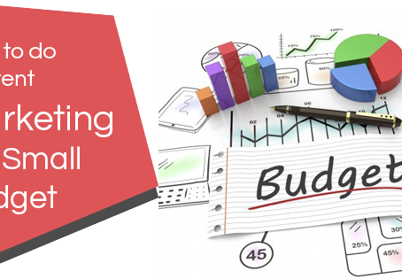 9 Low Budget Content Marketing Tips