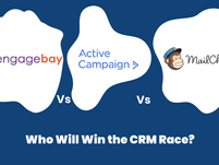EngageBay Vs Active Campaign Vs MailChimp: Who Will Win the CRM Race?
