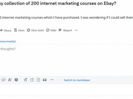Why Internet Marketing Courses Are A Waste Of Money.
