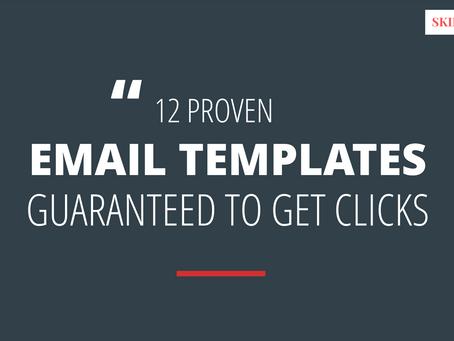 12 Proven Email Copywriting Templates Guaranteed to Get Clicks