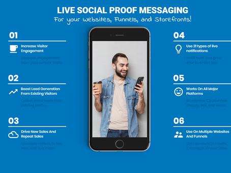 SocialProofNow: Social Proof Notification Platform For Websites & Funnels