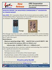 16G-0005-1 WOLFSPEED C3M0065090D 3rd GEN