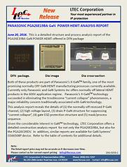 16G-0003-1-Panasonic PGA26E19BA GaN HEMT
