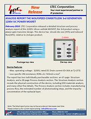 17G-0010-1-Cree 1200V SiC MOSFET C3M0075