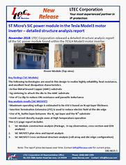 18G-0025-1-Br-L2 TESLA Model3 STMicro  S