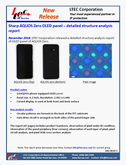 18G-0030-1-Br-L2 Sharp Aquos OLED panel