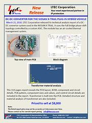 15G-0011-1 DC-DC CONVERTER FOR THE NISSA