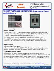 20G-0015-1-Br-L0 Toshiba TW070J120B SiC