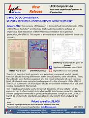 16G-0009-1 LT8640 DC-DC CONVERTER IC DET