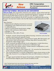 17G-0023-1-Audi Q7- 48V DC-DC Converter.