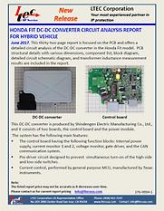 17G-0004-1 Honda Fit DC-DC converter PCB