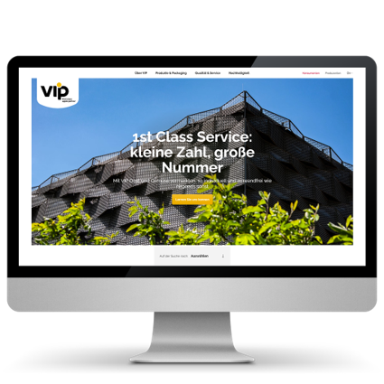 VIP Neue Website