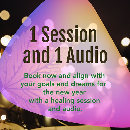 Single Session + 1 Audio Package