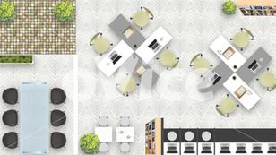 oVice株式会社 バーチャルオフィス背景デザイン