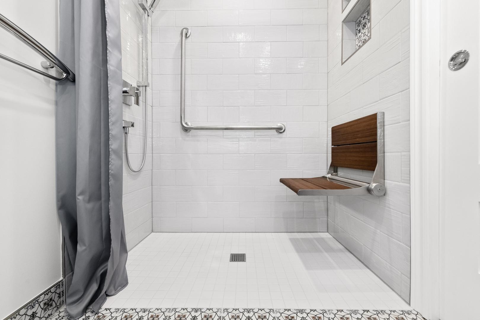 powder room to accessible bathroom