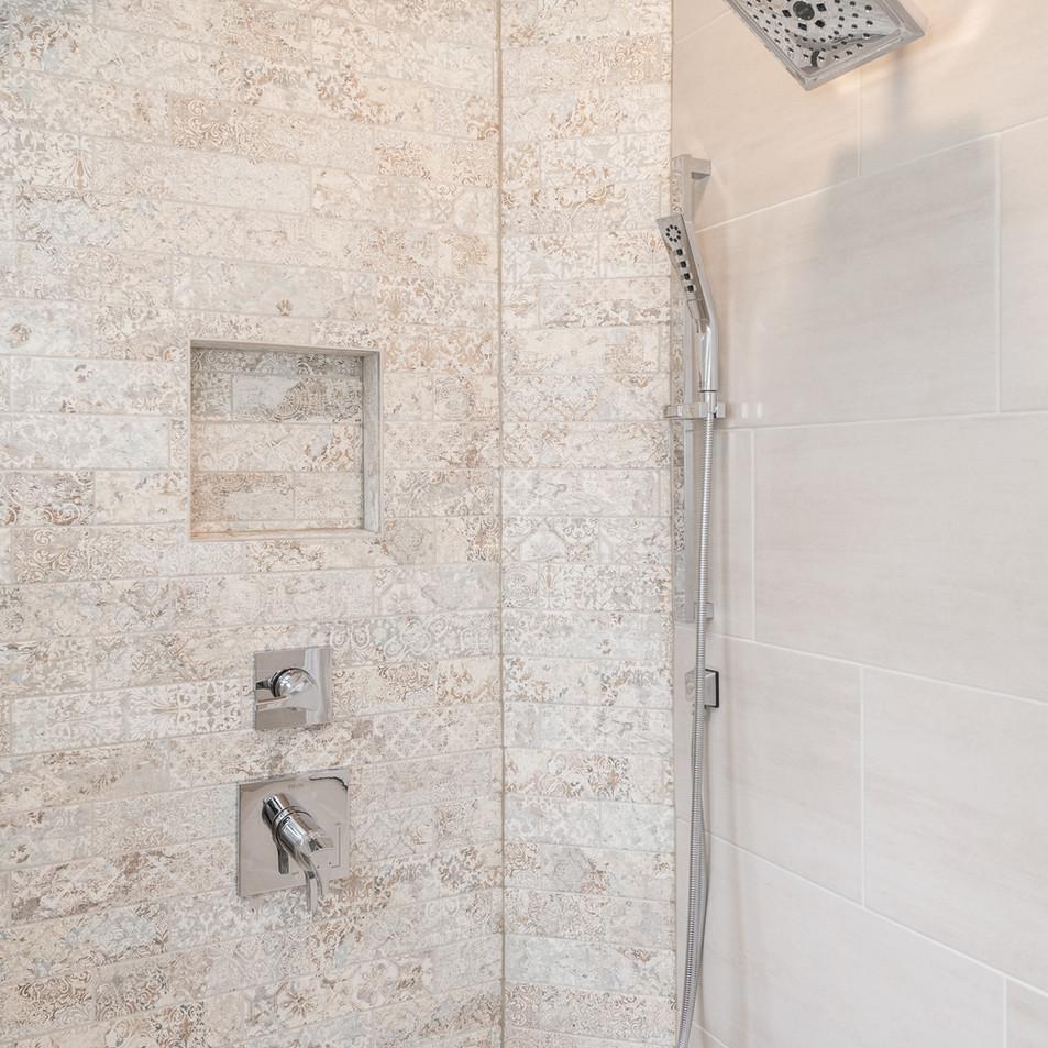 Accessible bathroom details
