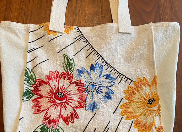 Ray of Blossoms Market Bag
