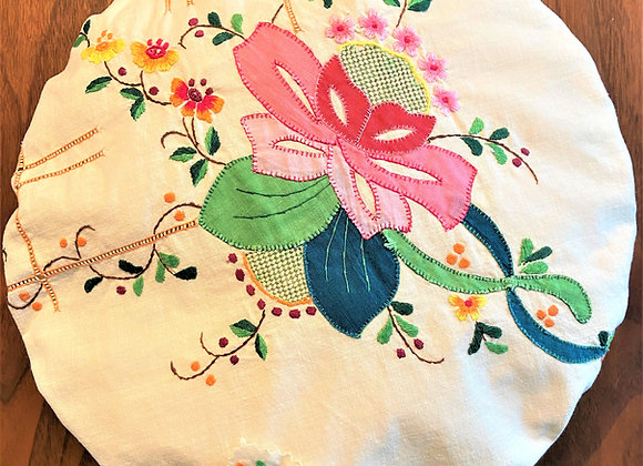 Folklore Floral Pie and Bowl Covers