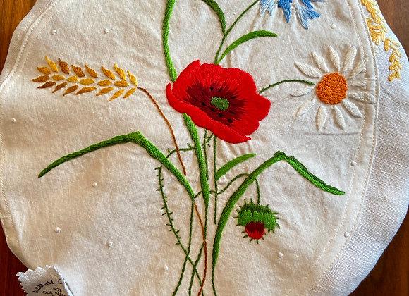 Wildflower Bouquet Pie Cover