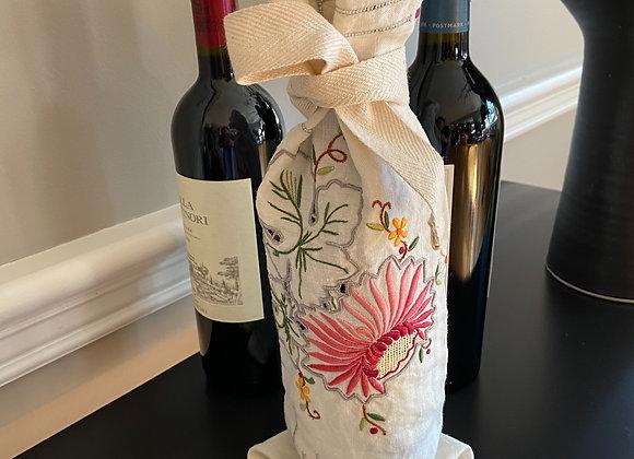 Dahlia Wine Bag