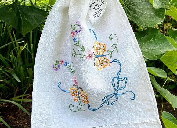Fluttering Butterflys Produce Bag