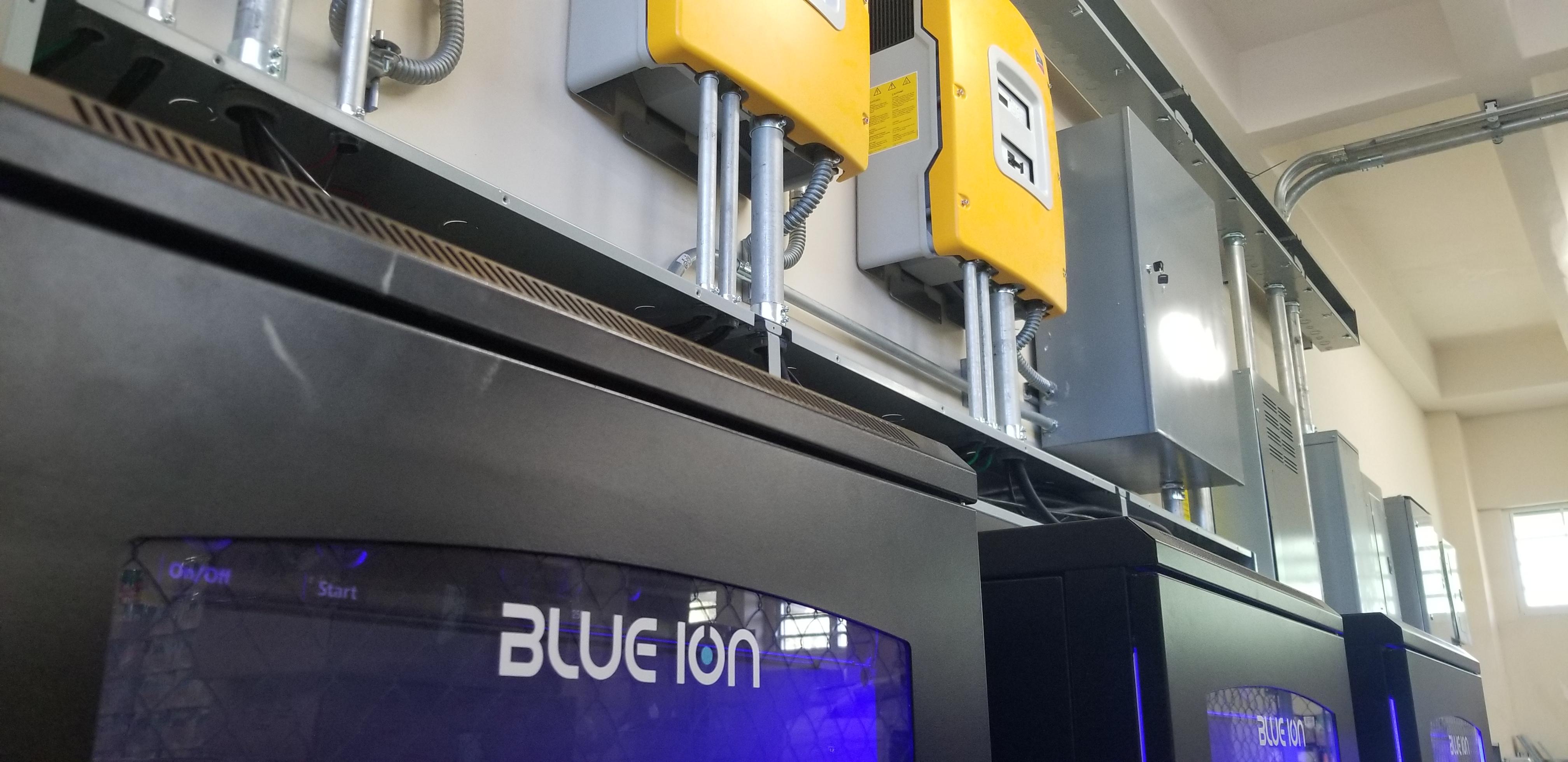Cuarto Eléctrico - Blue Ion