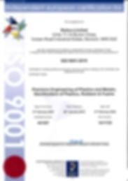 Redco ISO9001 2015 Certificate 2019-1.jp