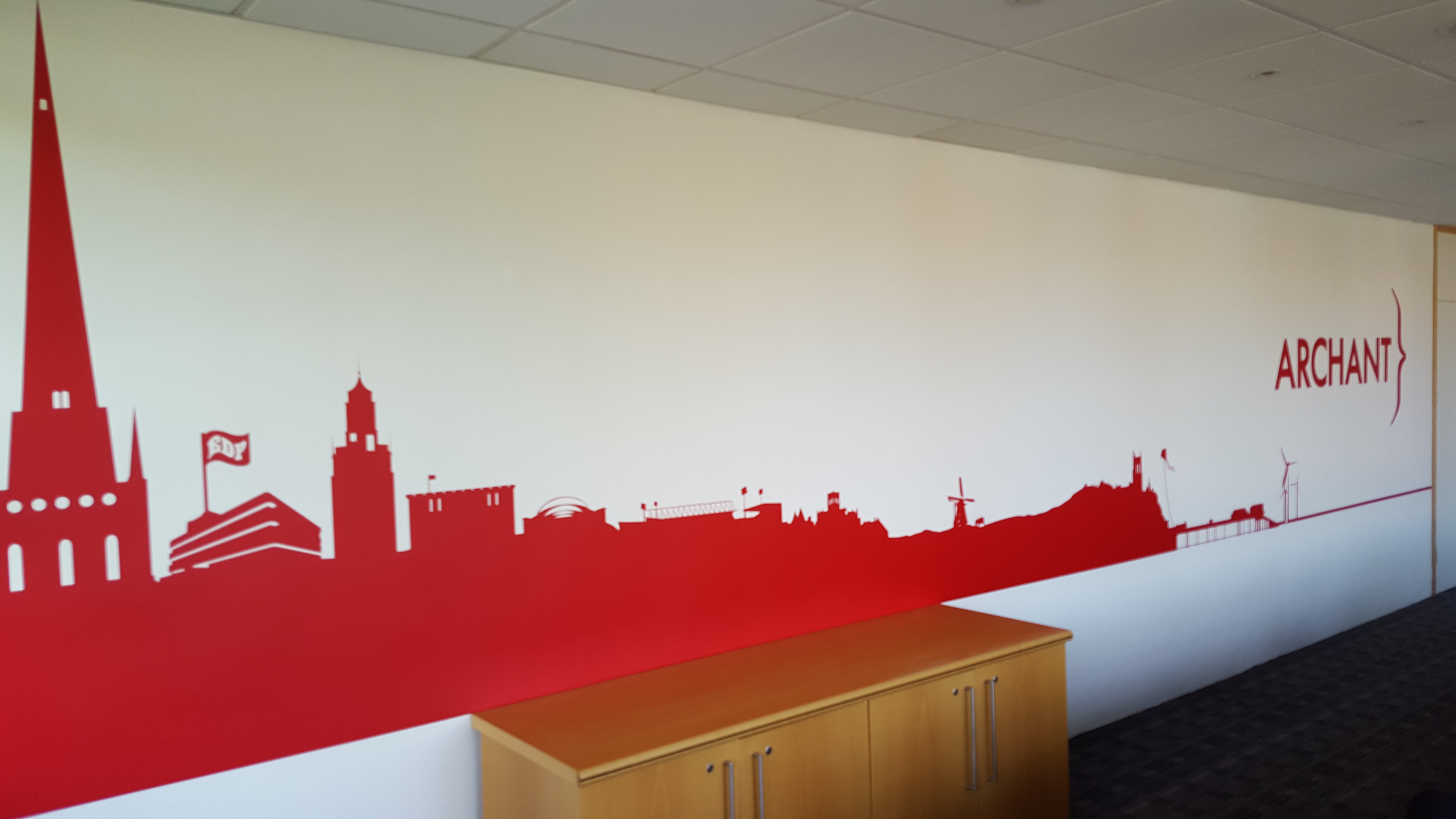 Red Dragon Media, Wall Graphics
