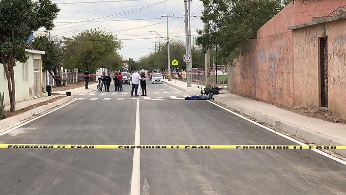 Asesinan a repartidor de comida en la Olivares