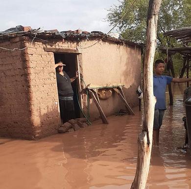 Evaluaron situación de riesgo por inundación en Vícam