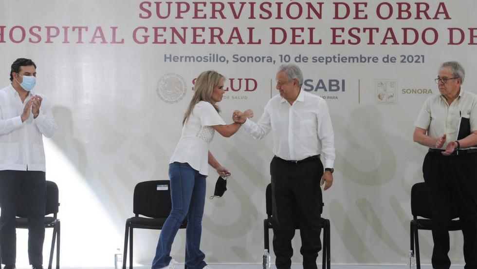 Supervisa López Obrador equipamiento del nuevo Hospital General de Especialidades, aún no concluyen
