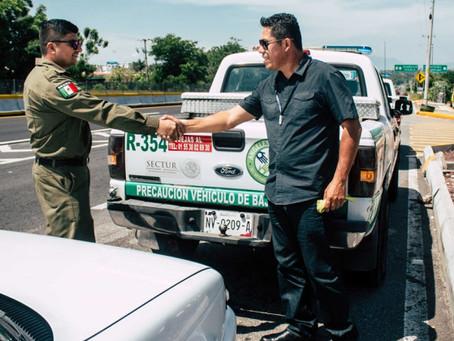 Realizan Ángeles Verdes operativo de apoyo a automovilistas en carreteras