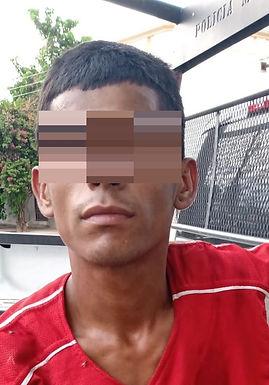 Joven golpeó a anciano para robarle 26 pesos